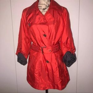 Concept K belted trench Coat